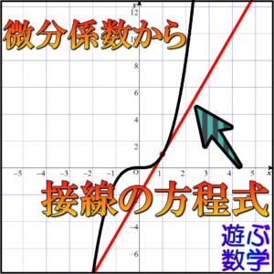 微分係数の定義とは?導関数との違いや接線の傾きの求め方を解説!【練習問題あり】