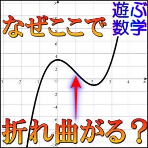 増減表(凹凸表)で変曲点を調べて三角関数のグラフを書こう!【2回微分】【数ⅲ】