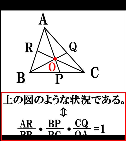 チェバの定理【数学A】